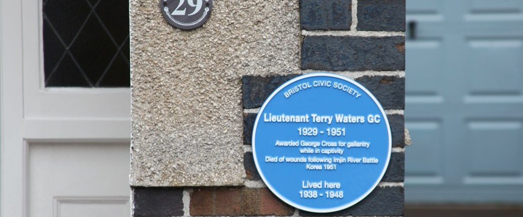Blue Plaque for Terry Waters