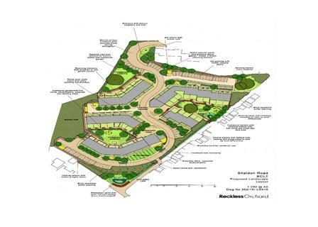 Morris Road plan