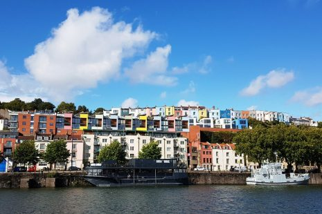 Bristol from the Floating Harbour