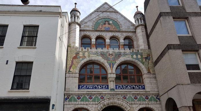 Front views of Edward Everard building