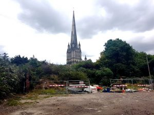 St Mary Redcliffe from Redcliffe Wharf