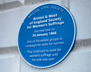 Suffragettes-Blue-Plaque
