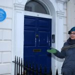 Bristol MP, Thangham Debbonaire unveils the blue plaque.