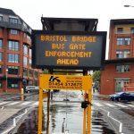 Bristol Bridge 'closure'