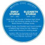 Blue plaque for Sturge sisters